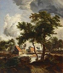 Mill, copy after Meindert Hobbema