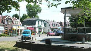 Ortsmitte von Julianadorp