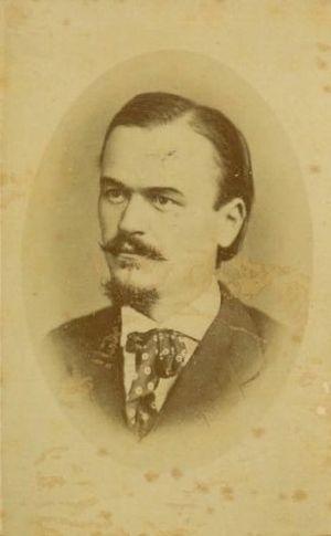 Josip Jurčič - Josip Jurčič, photo by Ernest Pogorelc