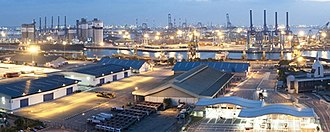 Jurong Port - Image: Jurong Port panorama, Singapore 20100311 (cropped)