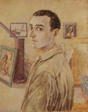 Juti Ravenna - Self-portrait