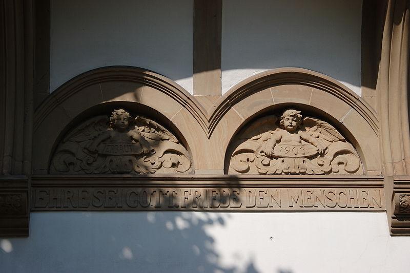 File:Köln-Lindenthal Kitschburger Straße 1 Inschrift.jpg