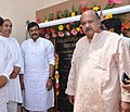 K. Chiranjeevi at the inauguration of the new campus of Indian Institute of Tourism & Travel Management, at Bhubaneswar on April 18, 2013. The Chief Minister of Odisha, Shri Naveen Patnaik is also seen.jpg