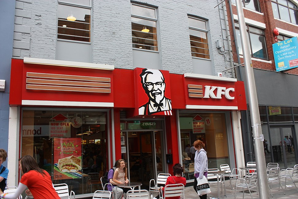 KFC, Belfast, June 2010