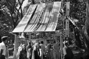 Fantasy Fair and Magic Mountain Music Festival - One of the craft booths at the fair