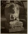 KITLV 28222 - Isidore van Kinsbergen - Hindu sculpture of a seated figure Jogkjakarta - 1865-07-1865-09.tif
