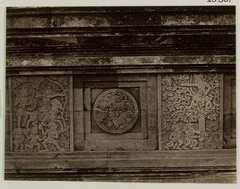 KITLV 28301 - Isidore van Kinsbergen - Relief with part of the Ramayana epic on the south side of Panataran, Kediri - 1867-02-1867-06.tif