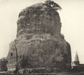 KITLV 87978 - Unknown - Dhamek stupa at Sarnath in British India - 1897.tif