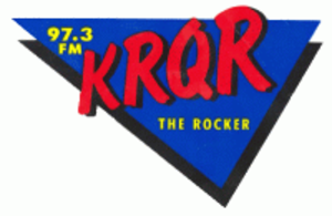 KLLC - KRQR logo - early 1990s