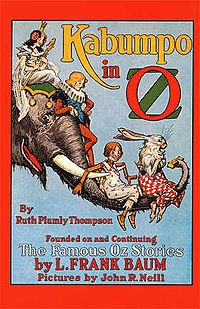 Cover of Kabumpo in Oz.