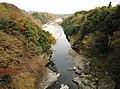 Kabura River from Torazu Bridge.jpg