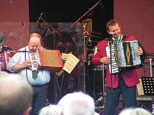 Bengan Janson - Kalle Moraeus (left) and Bengan Janson (right)
