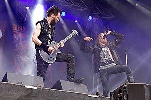 Kampfar - Kampfar performing live at Rockharz festival (Germany) in July 2016