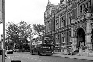 London Buses route 109 - Daimler Fleetline in Croydon
