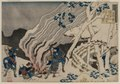 Katsushika Hokusai - Poem by Minamoto no Muneyuki, from the series One Hundred Poems by One Hund - 1985.327 - Cleveland Museum of Art.tif