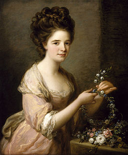 Kauffmann, Angelica - Portrait of Eleanor, Countess of Lauderdale - Google Art Project