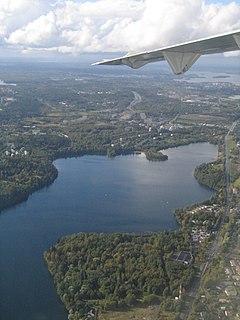 lake in Pirkanmaa, Finland