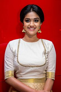 Keerthy Suresh Indian film actress and model