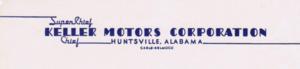 Keller (automobile) - Keller Letterhead-1947