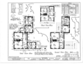 Kensey Johns Sr. House, 2 East Third Street, New Castle, New Castle County, DE HABS DEL,2-NEWCA,5- (sheet 2 of 12).png