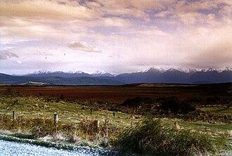 String bog - The Kepler Mire, a string bog found in New Zealand.