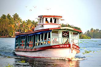 Kuttanad - Public Transport Boat service in Kuttanadu