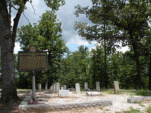 Battle of Kettle Creek - The Kettle Creek battlefield, 2010