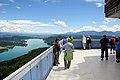 Keutschach Pyramidenkogel Aussichtsturm Plattform 05072007 92.jpg