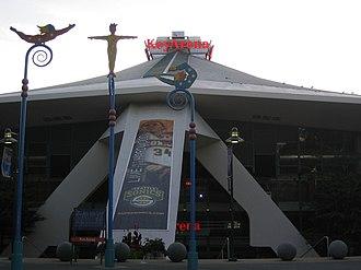 Sonics Arena - The east entrance to KeyArena.