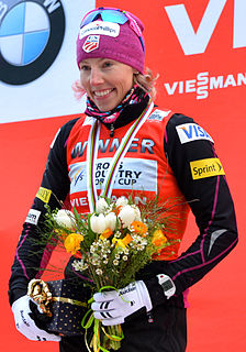 Kikkan Randall American cross-country skier