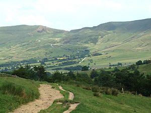 Economy of England in the Middle Ages - The Forest of High Peak, a moorland forest established for royal lead mining