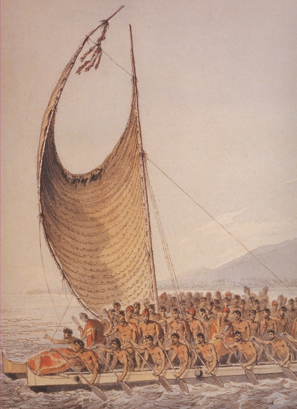 King Kalaniopuu Greeting Cook 1781