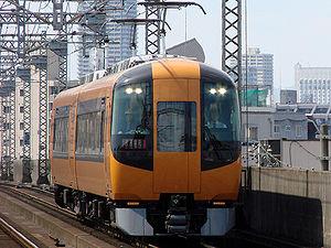 Kintetsu 16600 series - 16600 series 2-car set on a test run, May 2010
