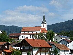 Bernried - Church in Bernried