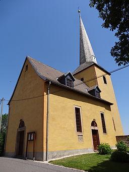 Church of Ködderitzsch, Thuringia, Germany