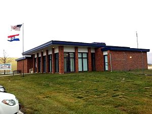 Kirksville Regional Airport - Clarence Cannon Memorial Terminal at Kirksville Regional Airport.