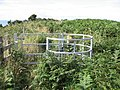 Kissing gate on footpath - geograph.org.uk - 921505.jpg