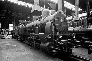 Karl Gölsdorf - No. 180.01 in Strasshof Railway Museum
