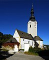 Klagenfurt Tultschnig Pfarrkirche heiliger Johannes Baptist 06102008 18.jpg