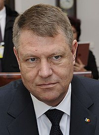 Klaus Iohannis Senate of Poland 2015 02 (cropped) (cropped).JPG