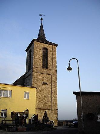 Gerbstedt - Tower of former monastery Gerbstedt