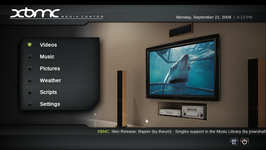 Kodi (software) screenshot.png