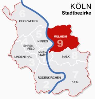 Mülheim, Cologne 9th District of Cologne in North Rhine-Westphalia, Germany