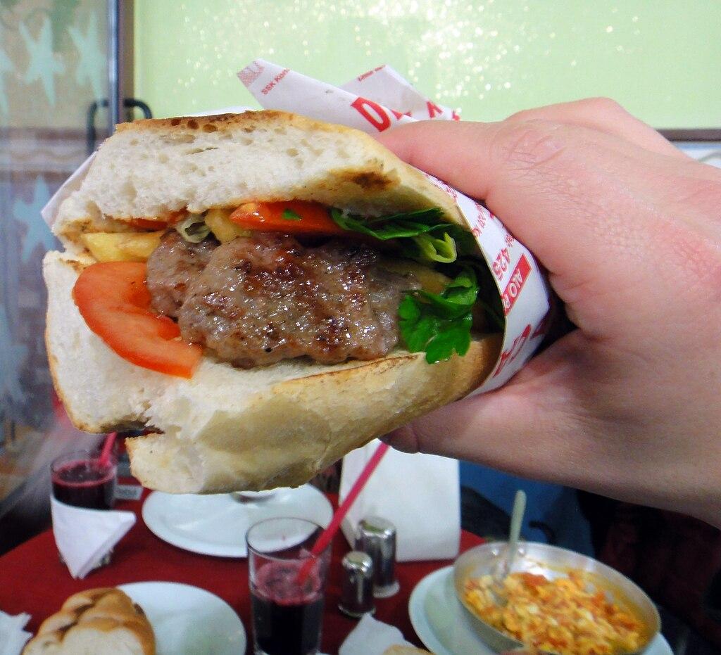 Kofte sandwich