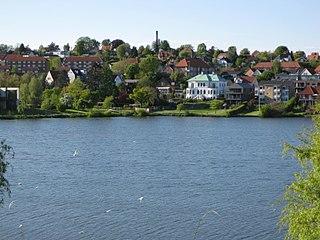 Kolding Town in Denmark