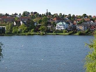 "Kolding - The castle lake ""Kolding Slotsø"""
