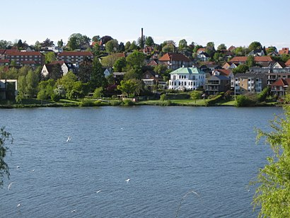How to get to Slotssøen, Kolding with public transit - About the place