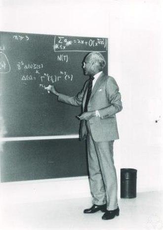 K. S. Chandrasekharan - Image: Komaravolu Chandrasekharan MFO 1987