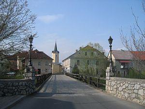 Kostanjevica na Krki - Image: Kostanjevica Na Krki 1