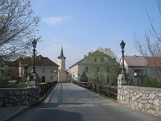 Kostanjevica na Krki Place in Lower Carniola, Slovenia